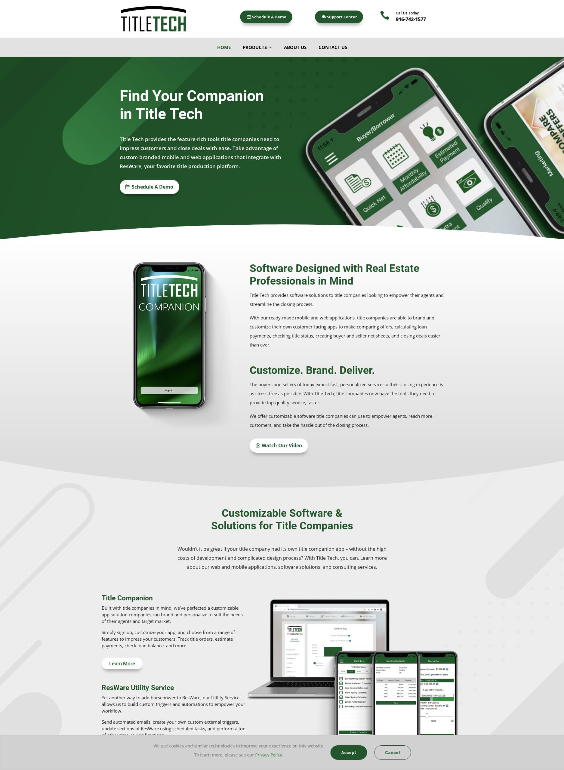 Title Tech Website